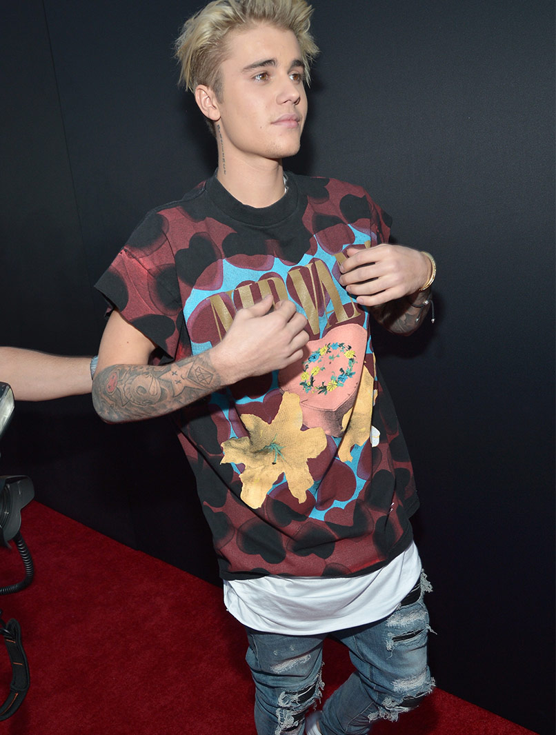 Justin Bieber © Charley Gallay/AMA2015/Getty Images for dcp