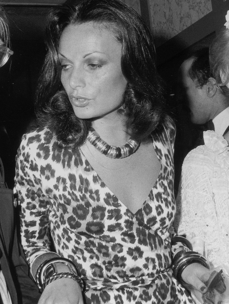 Diane von Fürstenberg, 1974 / © Tim Boxer/Hulton Archive/Getty Images