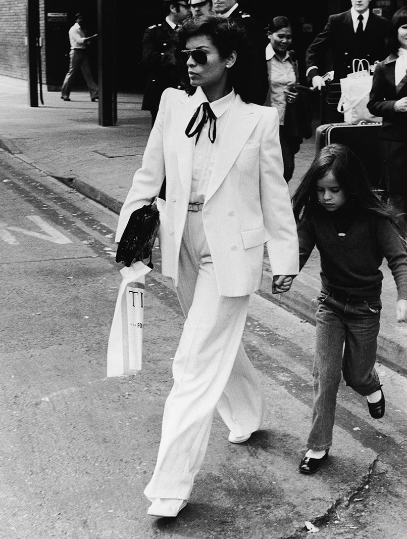 Bianca Jagger, 1979 / © Express Newspapers/Getty Images