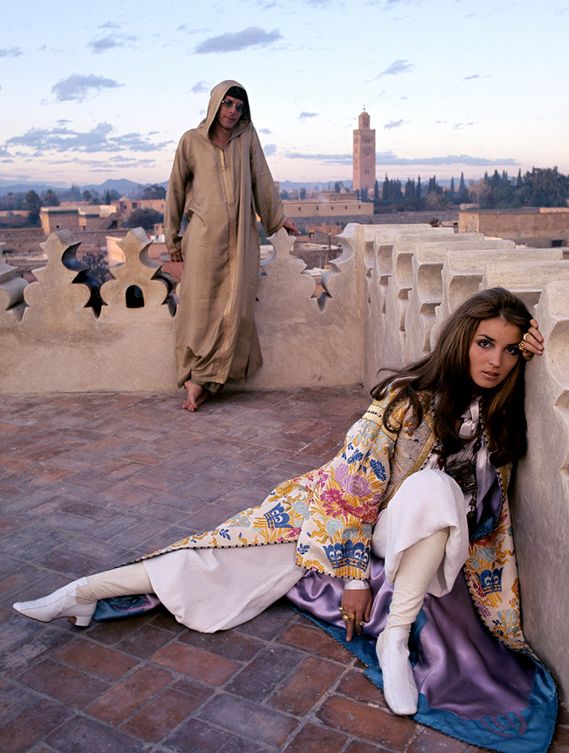 Talitha Getty, 1969/© Patrick Lichfield/Condé Nast via Getty Images