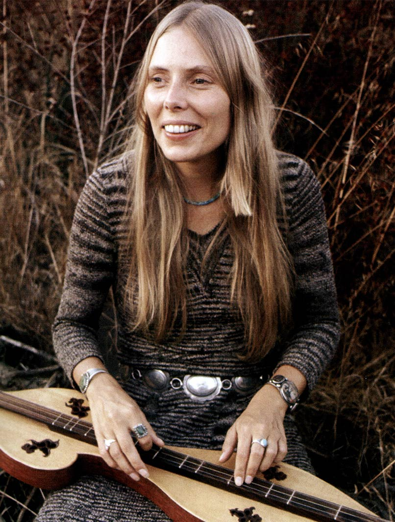 Joni Mitchell, 1971 / © GAB Archive/Redferns / Getty Images