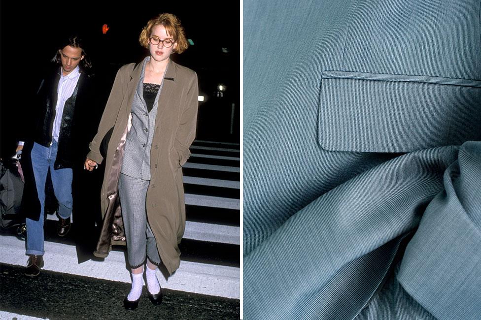 2571ddb5 Hvordan bærer man den grå dressen, Molly Ringwald?