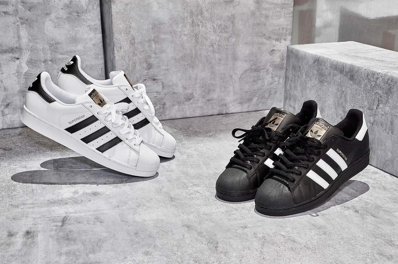 official photos ab999 c0684 adidas Originals Superstar weiß adidas Originals Superstar schwarz