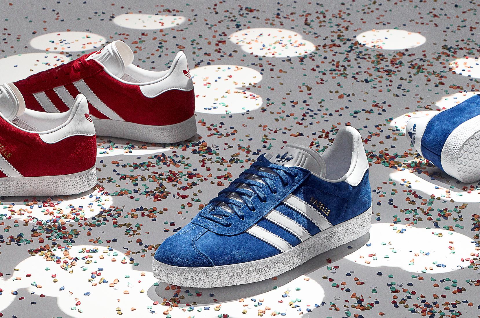 3105d169a08 adidas Originals Gazelle rood adidas Originals Gazelle blauw