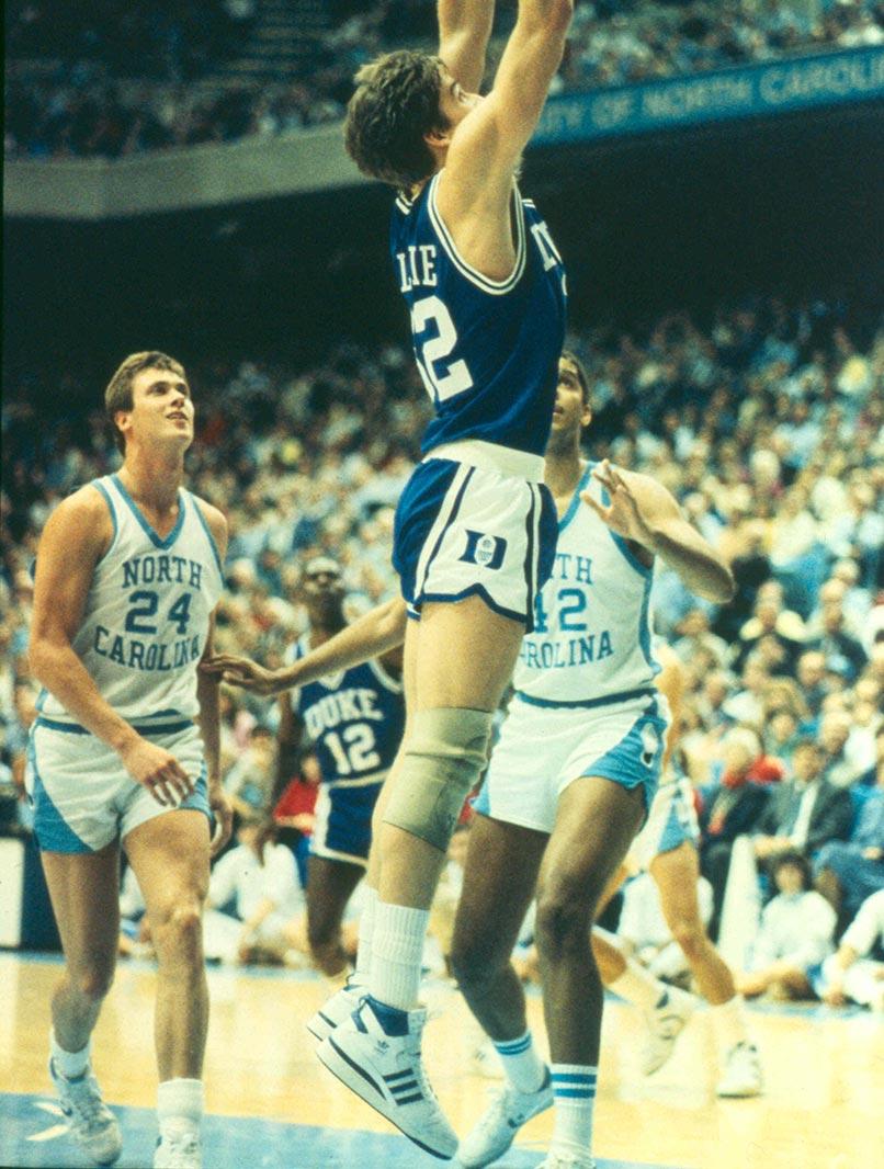 Mark Alarie, Duke University Blue Devils, 1985 © Duke University/Collegiate Images/Getty Images