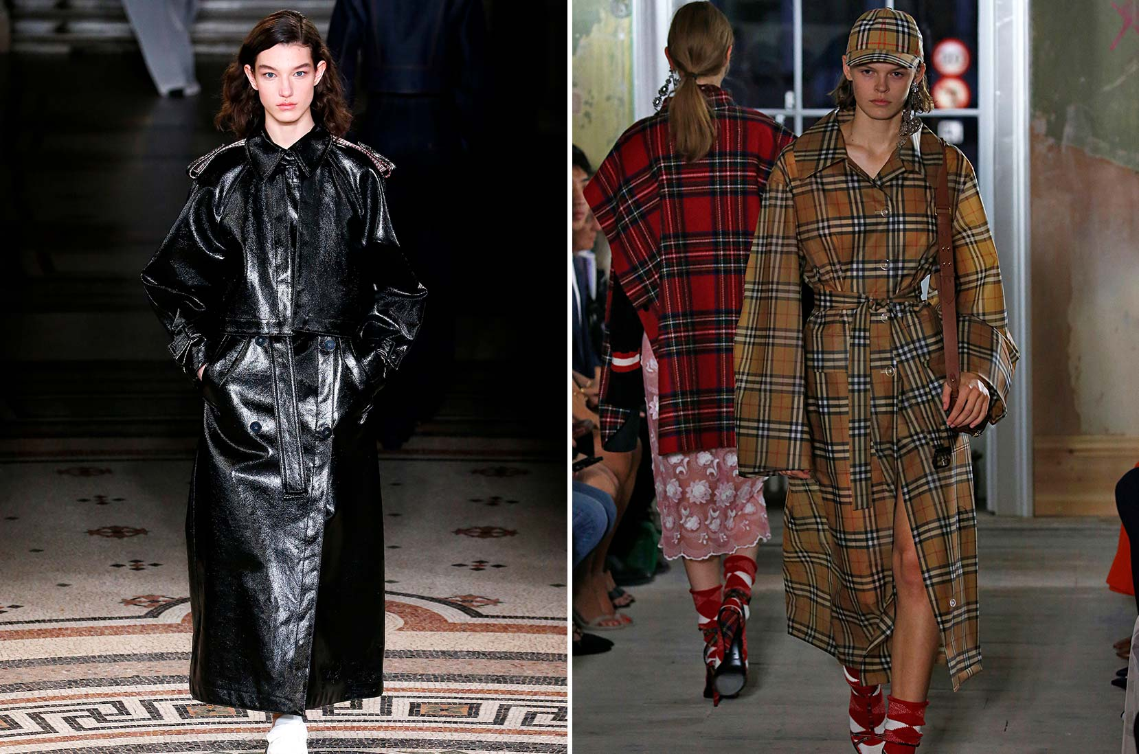 1. Stella McCartney © Estrop / Getty Images 2. Burberry © Victor VIRGILE / Gamma-Rapho via Getty Images