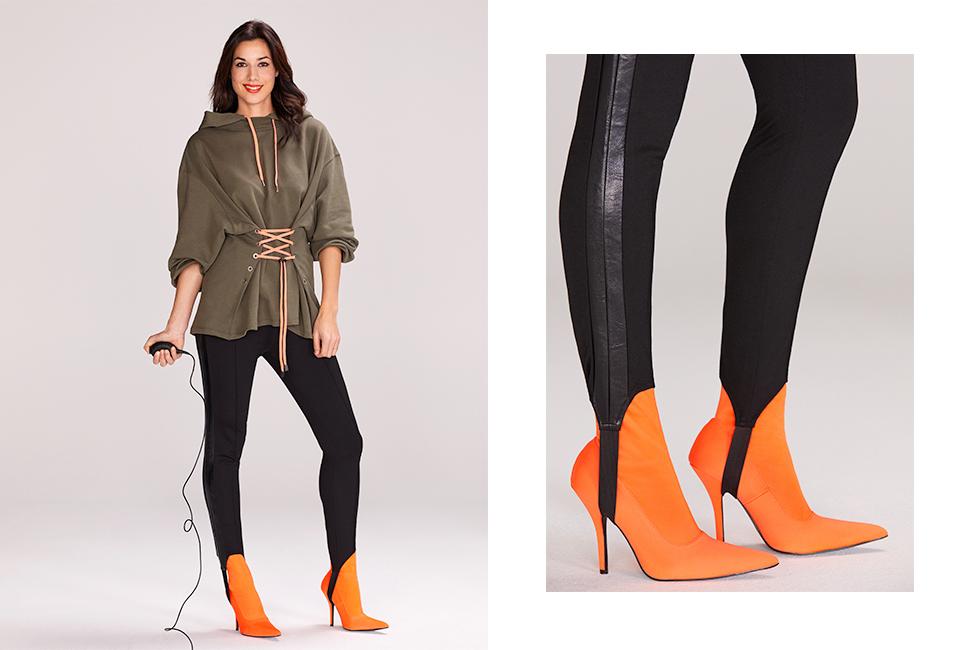 Hva er mest stilig lårhøye støvletter eller knehøye? Klær