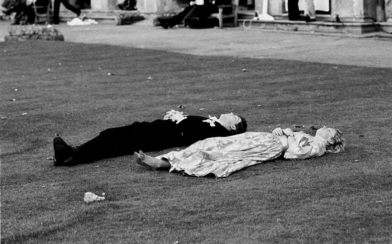 &copy Dafydd Jones, Magdalen Commemoration Ball, Oxford, 1988