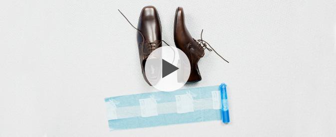 adidas schoenen uitrekken