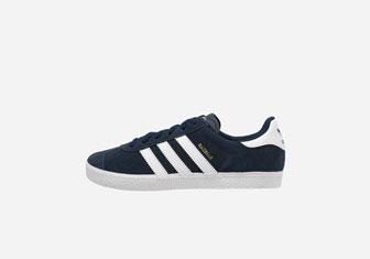Zalando SKU product AD114D015-K12, blue adidas Gazelle sneakers
