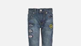 Zalando SKU product NL623L00C-N11, blue jeans