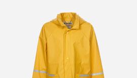 Zalando SKU product PL326G001-202, yellow raincoat