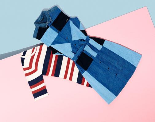 Kleider aus verschiedenen Stoffen bei Zalando