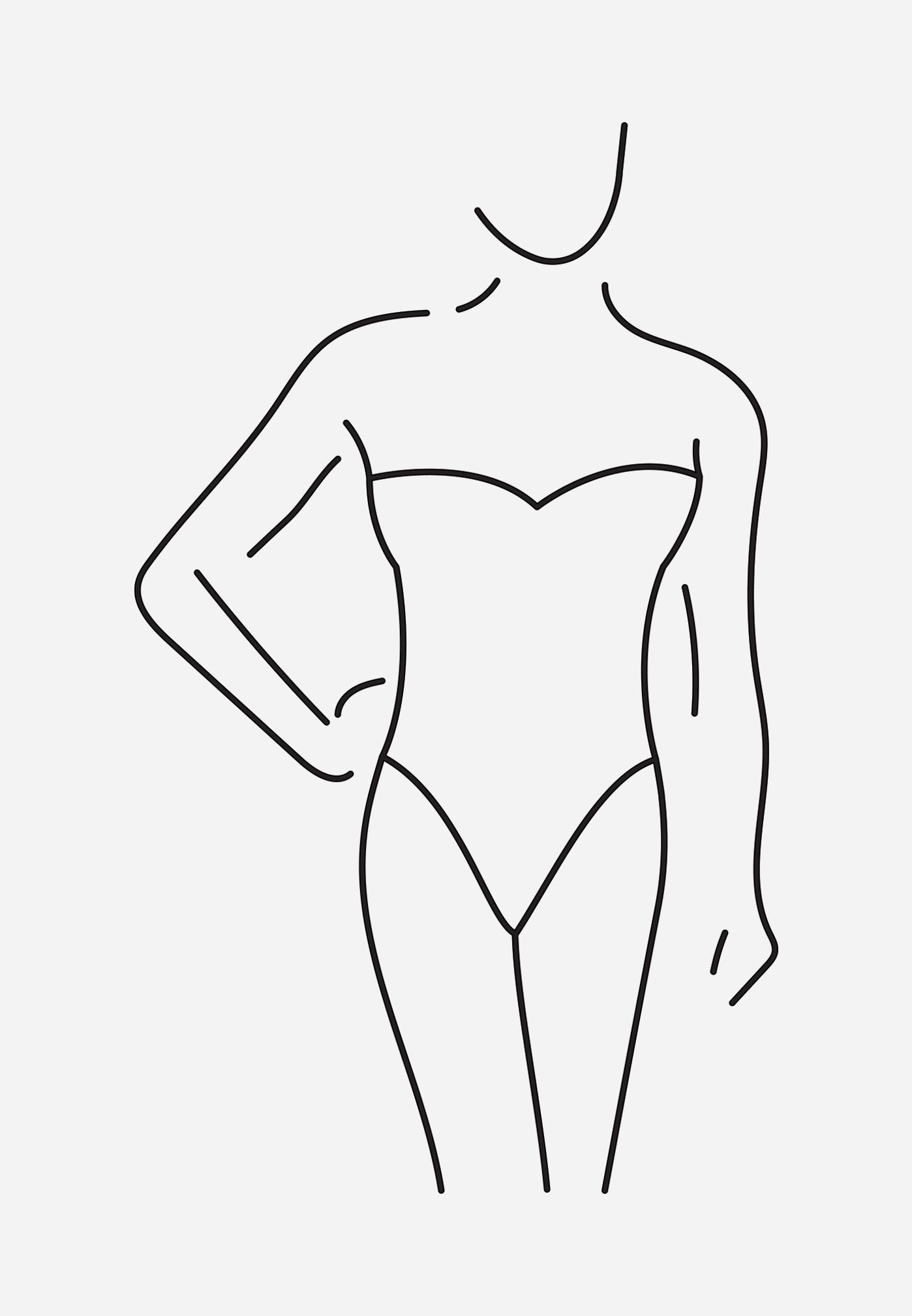 Kształt ciała typ rożka sukienki