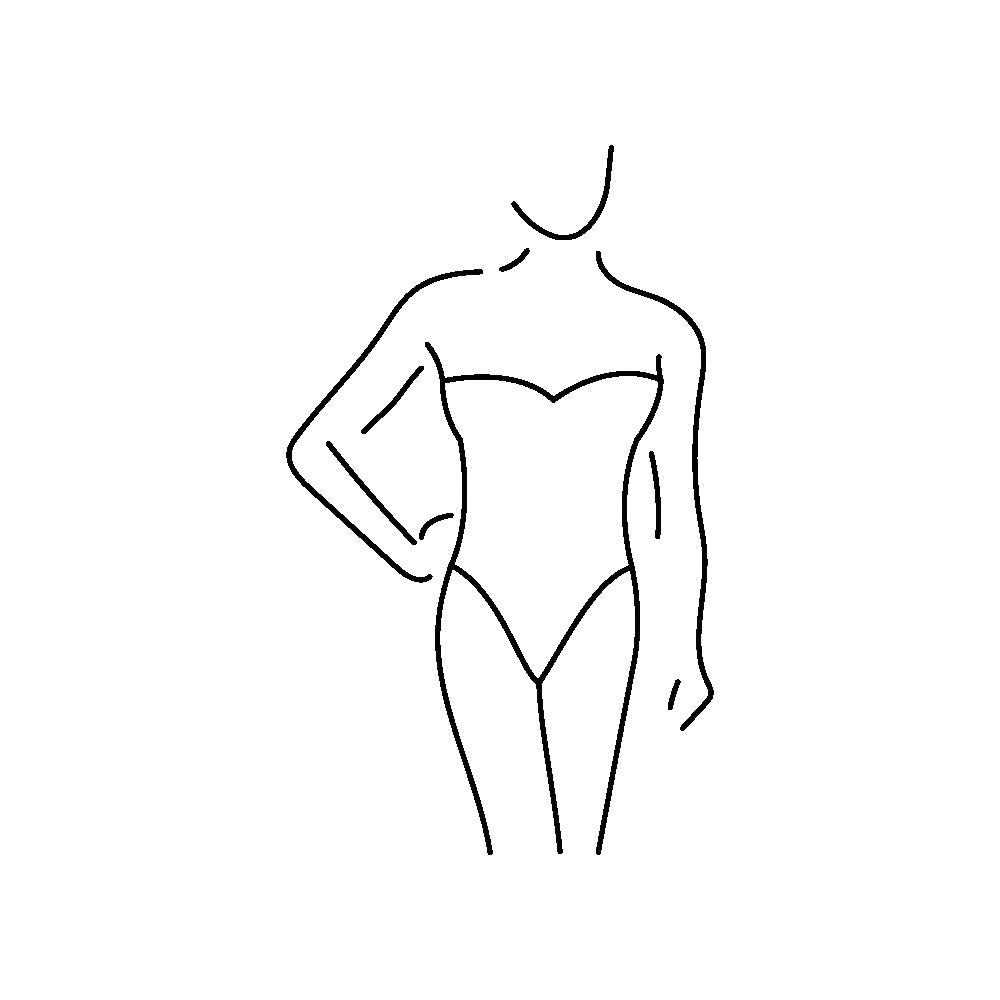 Kształt ciała typ rożka