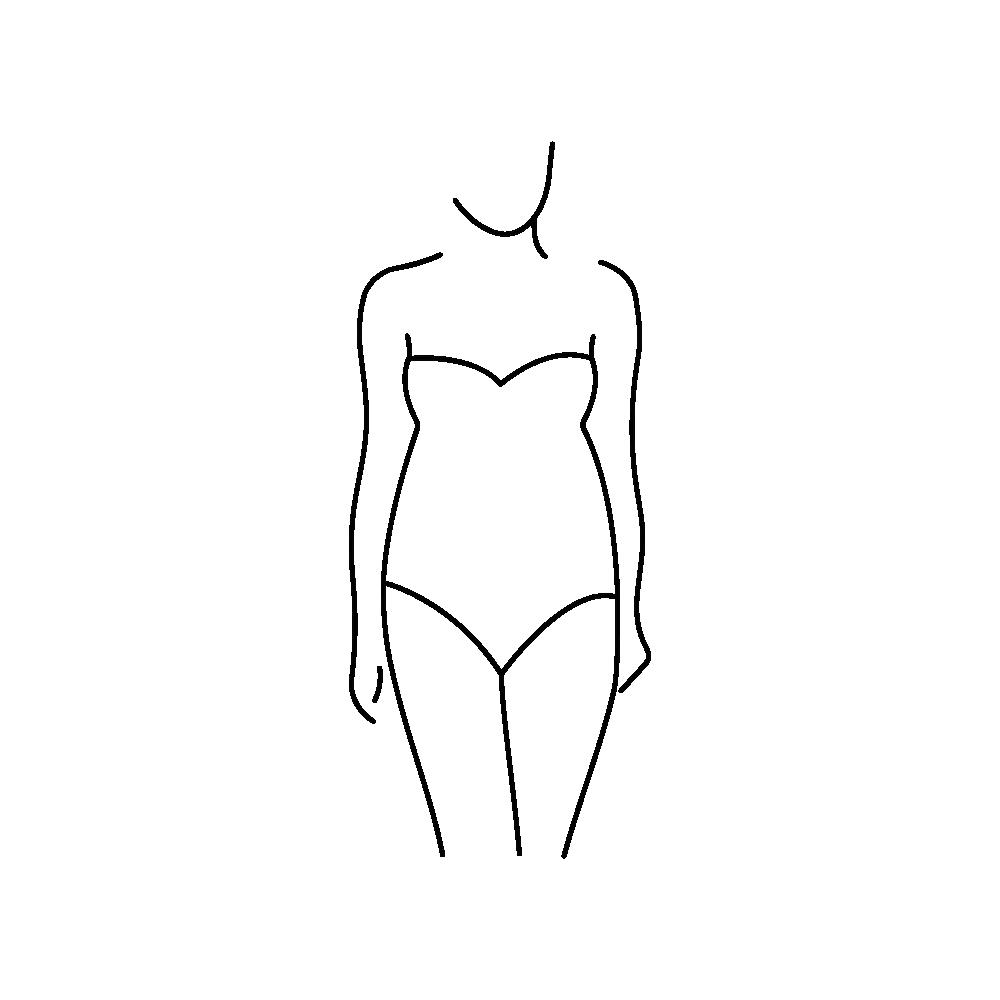 Körperform O-Typ