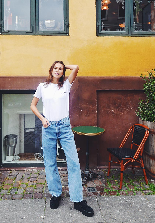 Levi's® Line 8 L8 HIGH BAGGY - Jeans Straight Leg