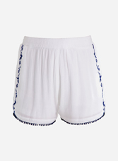 Shorts embroidery