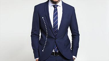 Skinny-Fit Anzug