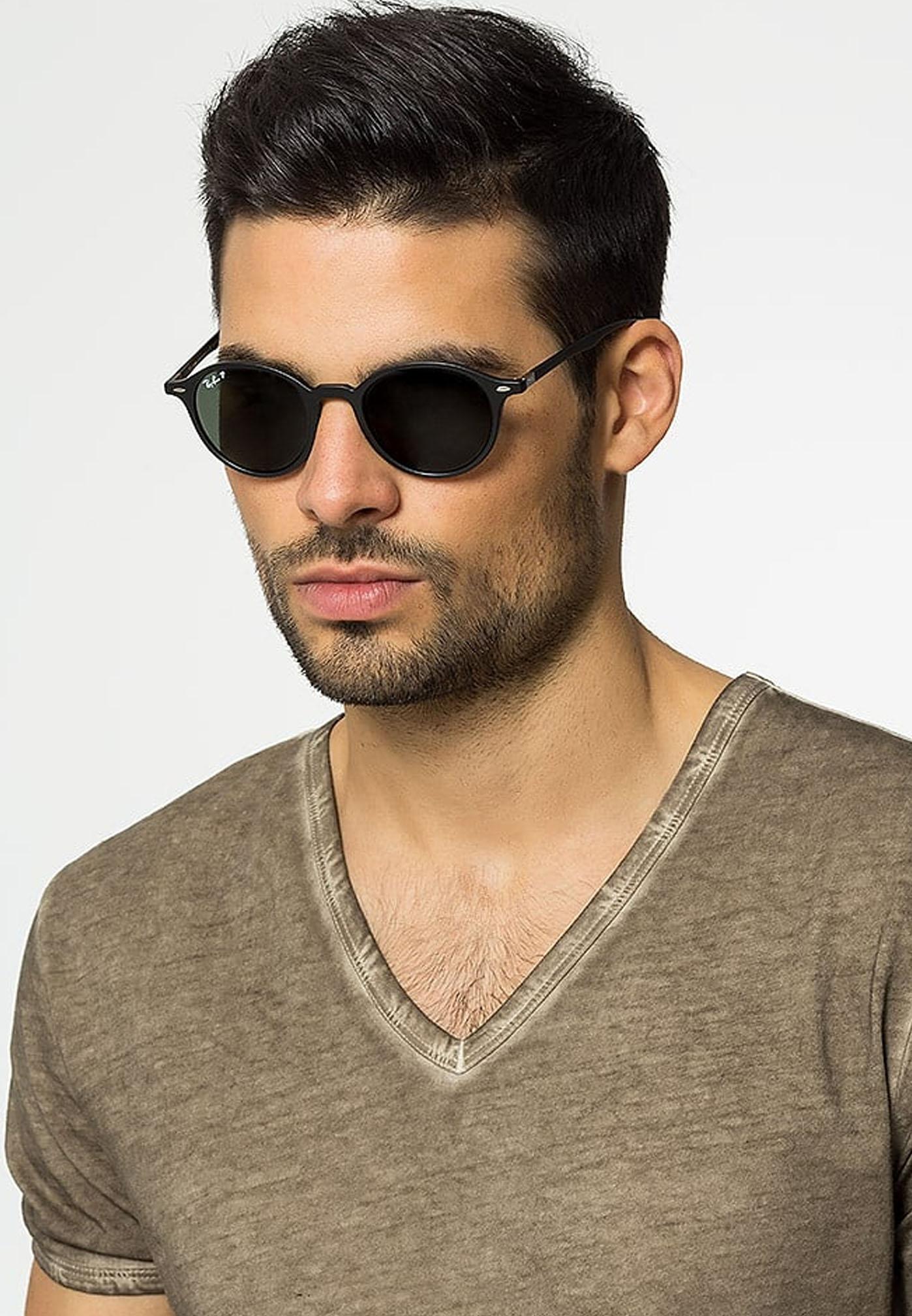 zonnebrillen hoekig gezicht heren