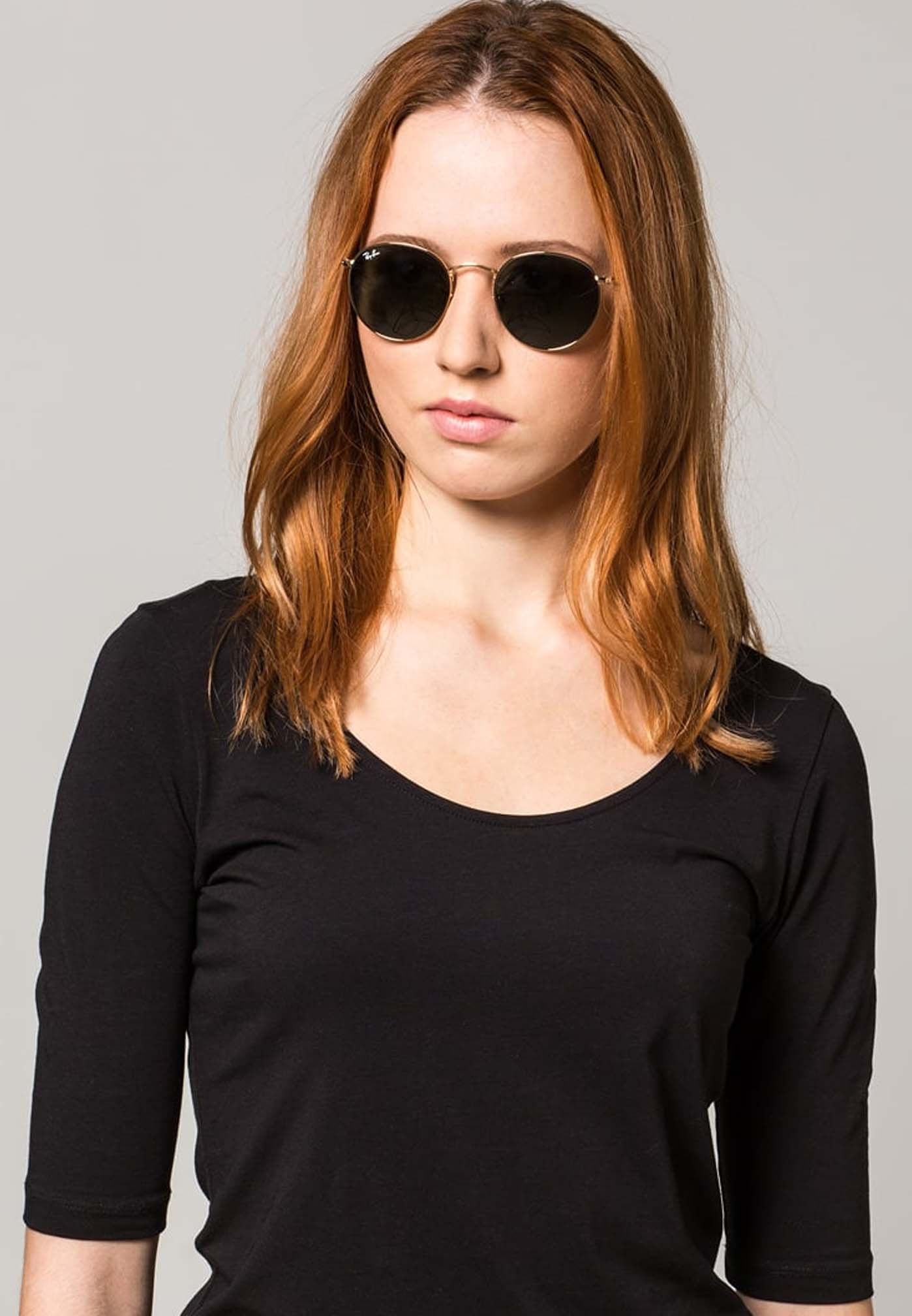 Sonnenbrille für eckiges Gesicht