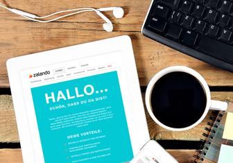 Aboniere den Zalando Newsletter und verpasse keine Trends
