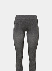 graue Yogaleggings