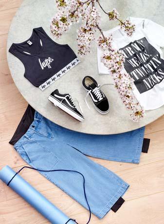 cool Skater-Stil med dit Yogaoutfit - Sammensætning af fede yogaoutfits