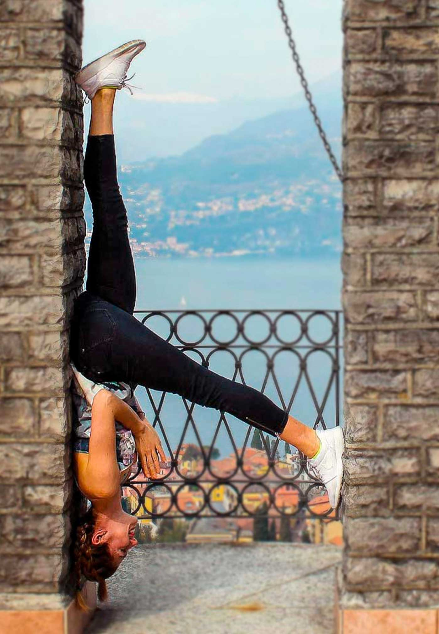 Nora Kersten in Yoga Pose