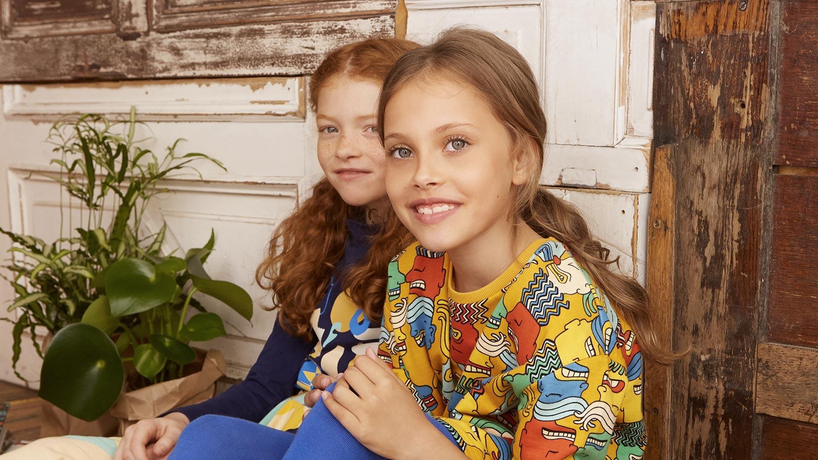 Abbigliamento sostenibile bambini