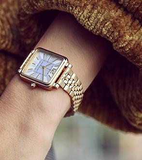 Damski zegarek analogowy