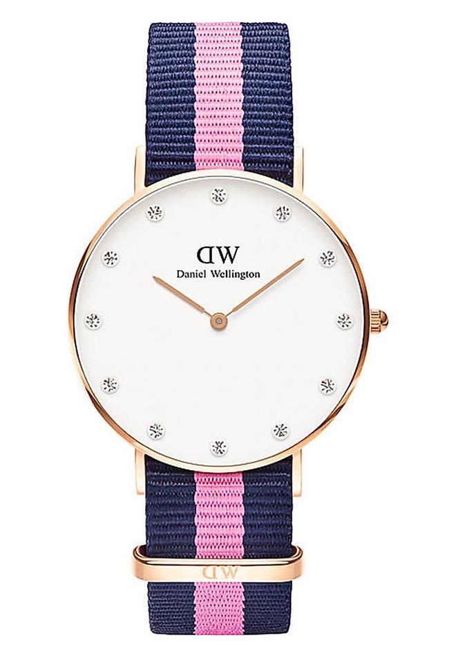 Zegarek na materiałowym pasku