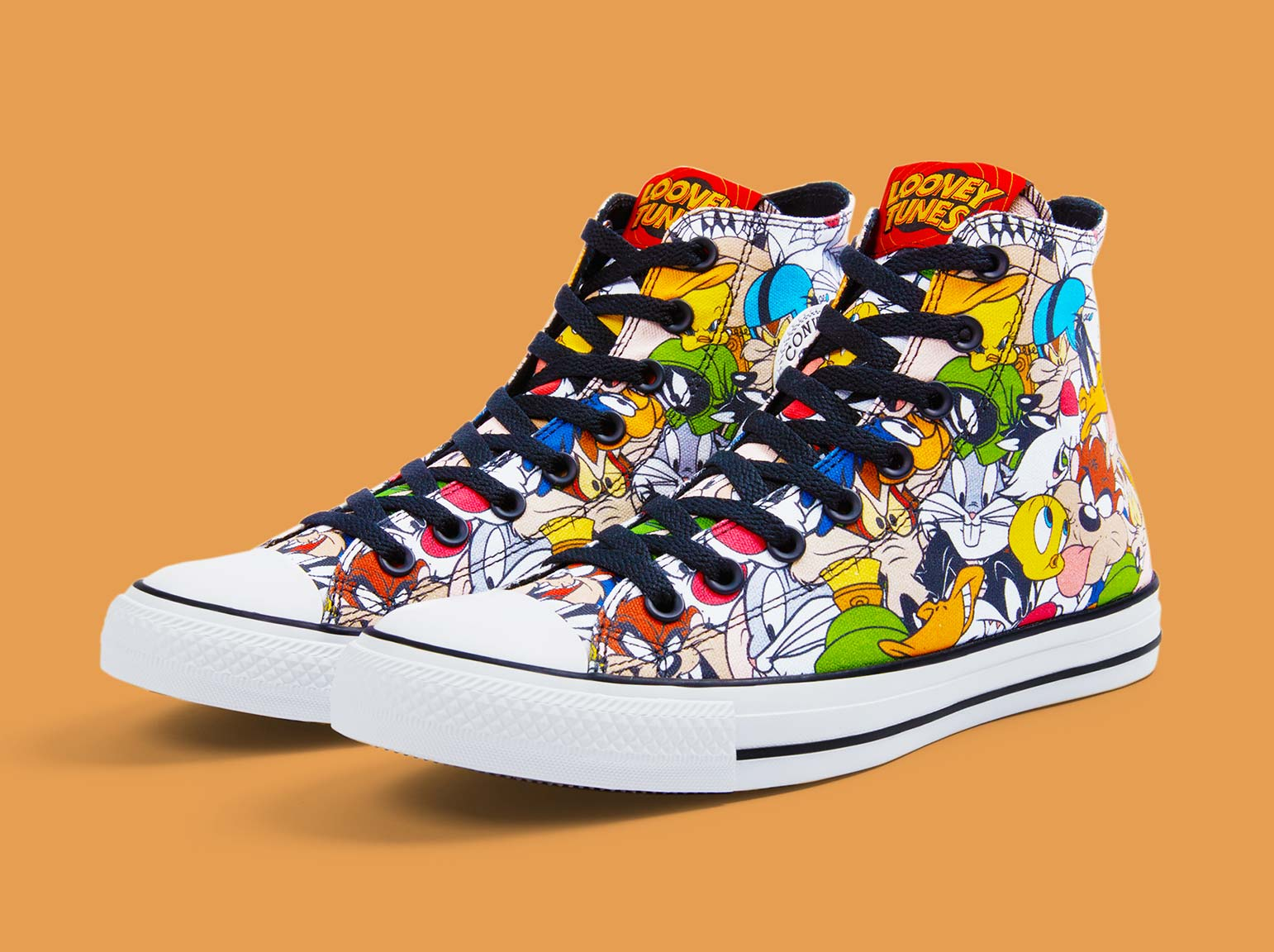 converse femme looney tunes