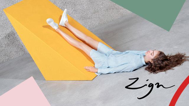Zign Damenschuhe aus aktueller Kampagne am Model