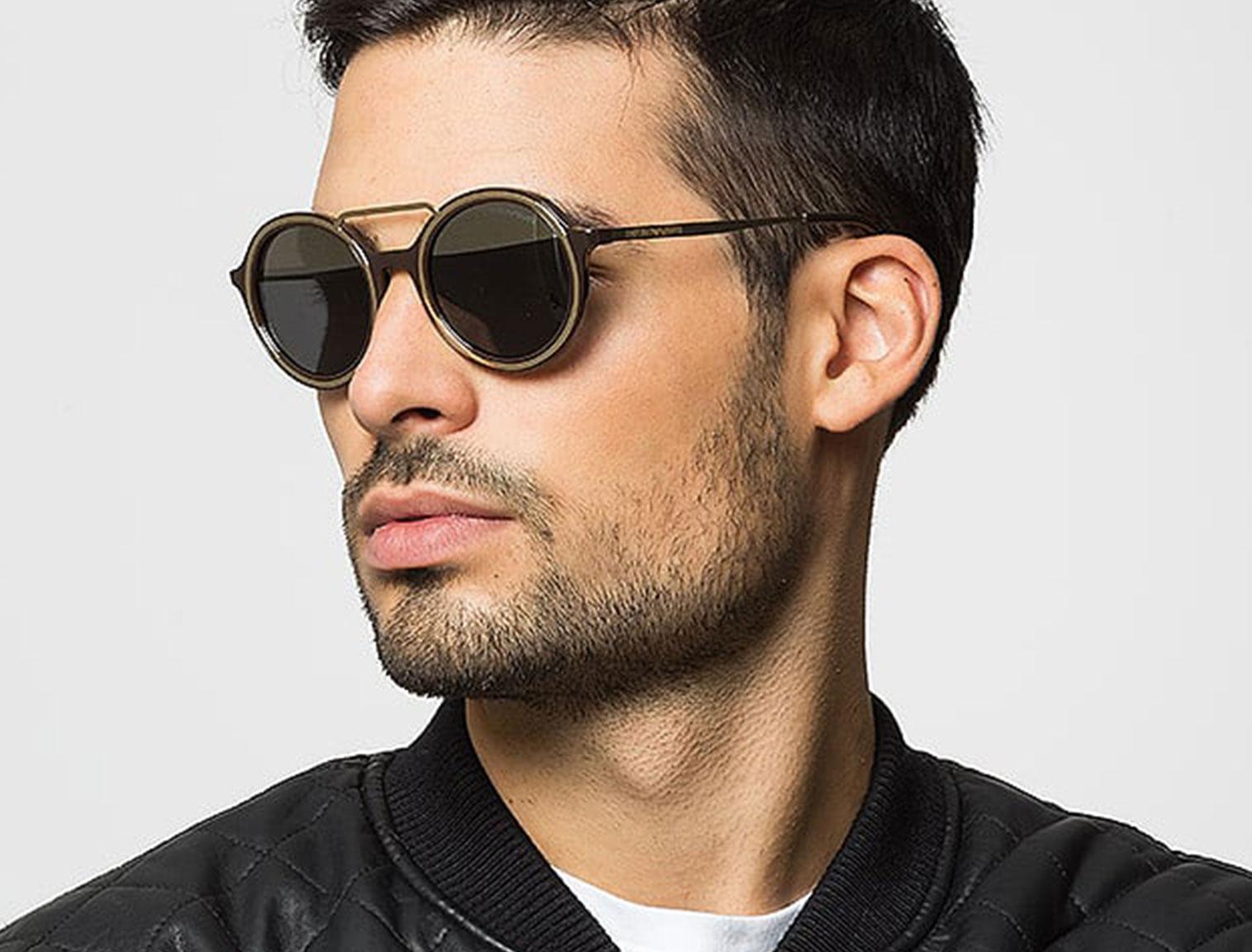 Męskie okulary lenonki w Zalando