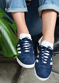 huge selection of 91c19 b182d favoriete adidas Gazelle van girl on kicks