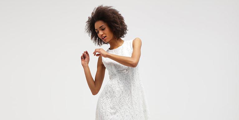 officiella foton spetsar in 100% autentisk Studentklänningar online | 2018 | Zalando